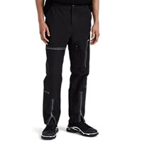 Ovadia And Sons Zip Detailed Canvas Flight Trousers Black