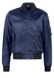 True Religion Bomber Jacket Night Blue