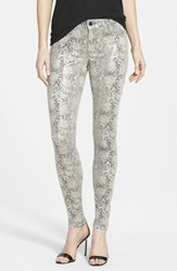 Women's Cj By Cookie Johnson 'Joy' Snakeskin Print Skinny Pants