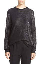 Women's Equipment 'Shane' Sequin Crewneck Sweater