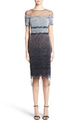 Pamella Roland Women's Signature Sequin Cocktail Dress