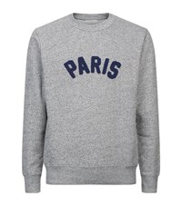 Sandro Chenille Paris Sweater Black