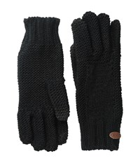 Roxy In Charge Knit Gloves True Black Extreme Cold Weather Gloves