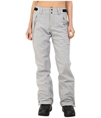 O'neill Glamour Pants Silver Melee Women's Casual Pants Gray