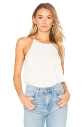Blaque Label Racer Tank White