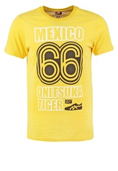 Onitsuka Tiger By Asics Onitsuka Tiger Print Tshirt Chrome Yellow