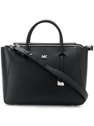 Michael Kors Collection Nolita Medium Satchel Black