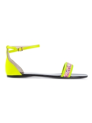 Anna Baiguera Ankle Strap Flat Sandals