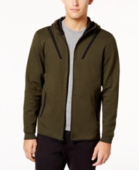 Ideology Id Men's Ajax Zip Hoodie Created For Macy's Aged Olive