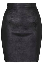Pu Skirt By Oh My Love Black