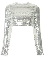 Macgraw Prism Blouse Silver
