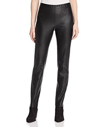 Basler Faux Leather Pants 100 Bloomingdale's Exclusive Black