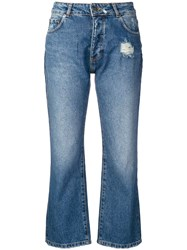 Each X Other Cropped Jeans Blue