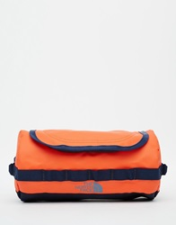The North Face Base Camp Wash Bag Orange