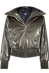 Fusalp Melly Hooded Luminescent Ski Jacket Silver