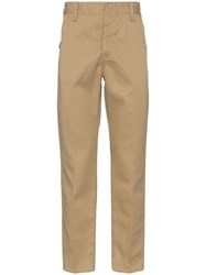 Neighborhood Straight Leg Trousers Neutrals