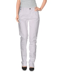 Heavy Project Trousers Casual Trousers Women White