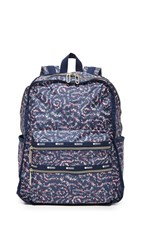 Le Sport Sac Functional Backpack Fairy Floral Blue