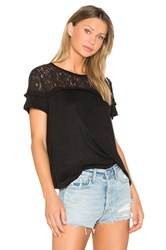 Generation Love Rooney Lace Tee Black