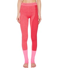 Adidas By Stella Mccartney Yoga Seamless Tights S97516 Shock Pink Ruby Red