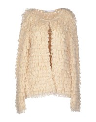 Fairly Knitwear Cardigans Women Ivory
