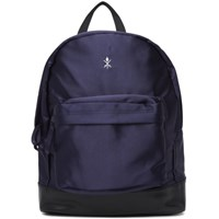 Opening Ceremony Navy Satin Classic Backpack