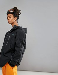 O'neill Exile Ski Jacket In Black Blackout