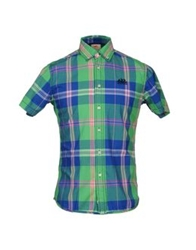 Sundek Shirts Light Green