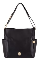 Lodis Rodeo Under Lock And Key Jessie Rfid Leather Bucket Bag Black