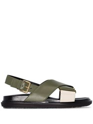 Marni Fussbet Criss Cross Sandals 60