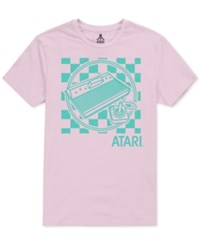 New World Atari Graphic T Shirt Pink