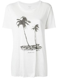 Osklen Printed T Shirt White