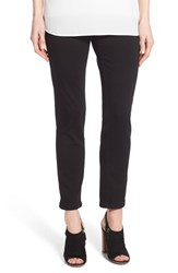 Women's Nydj 'Millie' Pull On Stretch Ankle Skinny Jeans Black