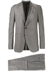 Lanvin Shepard's Check Two Piece Suit Grey