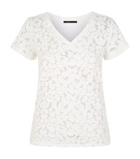 Maje Trompette T Shirt Female White