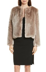 Milly 'S Faux Fur Jacket Mink