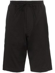 Y 3 Drawstring Track Shorts Black