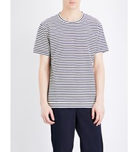 Closed Breton Cotton Jersey T Shirt White