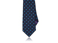Ralph Lauren Purple Label Men's Dotted Linen Necktie No Color