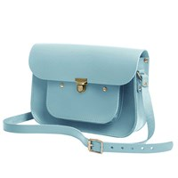 N'damus London Sky Blue 11 Inches Mini Pocket Satchel