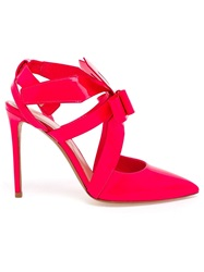 Nicholas Kirkwood Origami Bow Pumps Pink And Purple