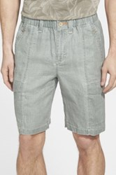 Tommy Bahama 'Summerlands' Linen Cargo Shorts Green