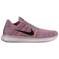 Nike Free Rn Flyknit Women's Running Shoes Purple Earth Bright Mango