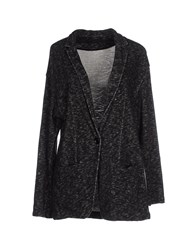 Soallure Suits And Jackets Blazers Women Steel Grey