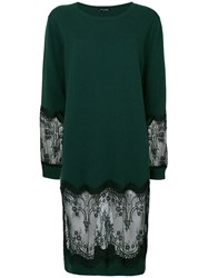 Each X Other Lace Dress Wool Xs Green
