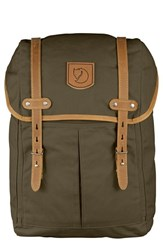 Fjall Raven Men's Fjallraven 'No. 21' Rucksack Green Dark Olive