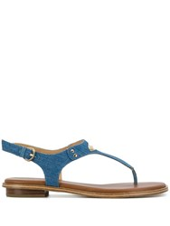 Michael Michael Kors Alice Sandals Blue