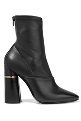 3.1 Phillip Lim Kyoto Leather Boots Black