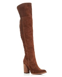 Dolce Vita Cliff Over The Knee High Heel Boots Acorn