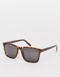 Cheap Monday Straight Sunglasses Brown
